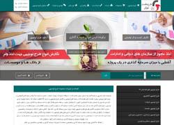 طراحی و سئو وب سایت طرح توجیهی